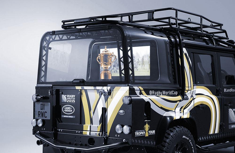 2015 | JLR World Cup Trophy Cabinet