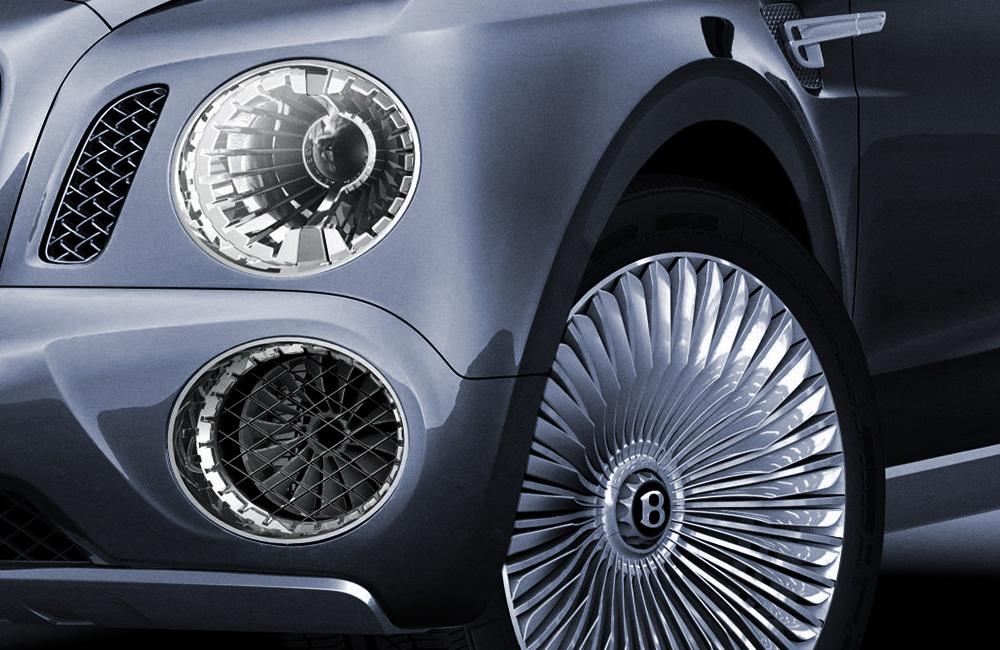 2012 | Bentley SUV | Headlamp upper & lower